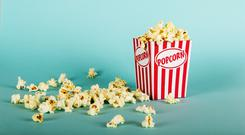 A popcorn bucket (christopherhall/Getty Images)