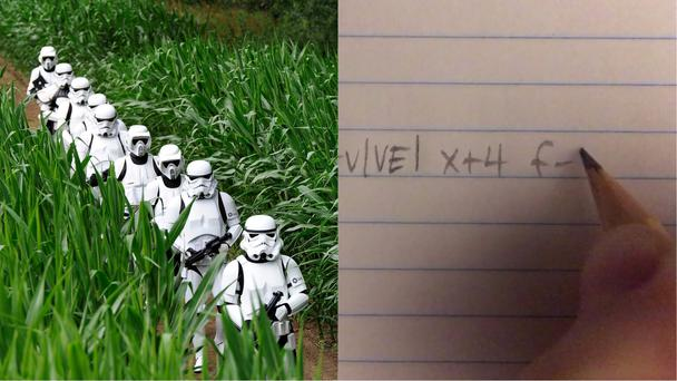 Star Wars fans dressed as Stormtroopers, and a mathematical calculation (John Giles/PA, Dani Ochoa)