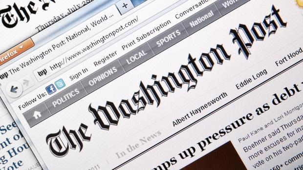 Washington Post website (Fazon1/Getty Images)