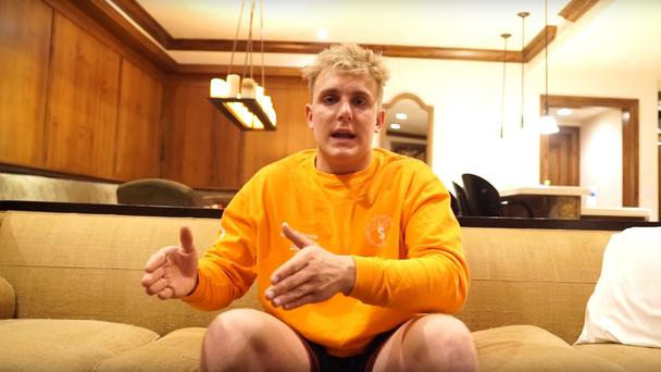 The brothers are both vloggers (Jake Paul/PA)