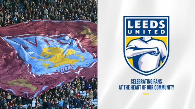 Aston Villa have absolutely destroyed Leeds over their new badge