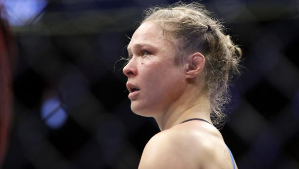 Ronda Rousey will return to pro-wrestling for WWE's WrestleMania (John Locher/AP)