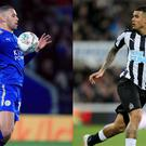 Footballers Islam Slimani and Kenedy