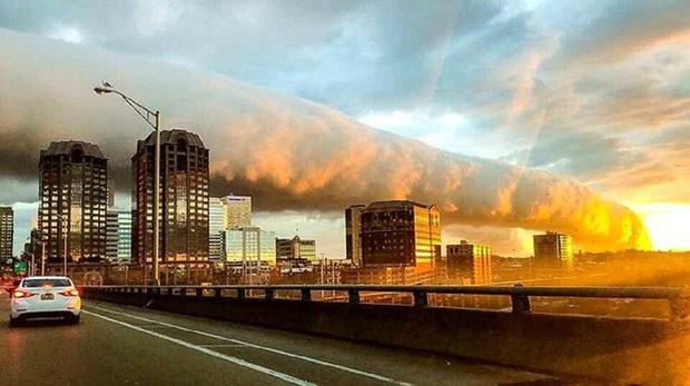 A roll cloud in Virginia