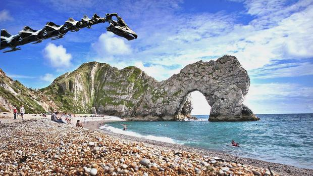 Dippy by Durdle Door