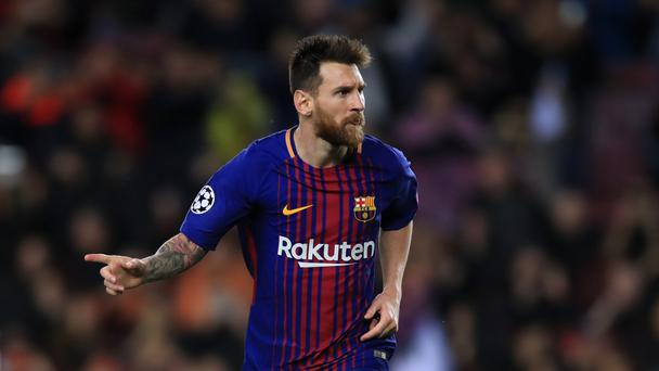 Lionel Messi's skills have dazzled Twitter users - not for the first time (John Walton/EMPICS Sport)