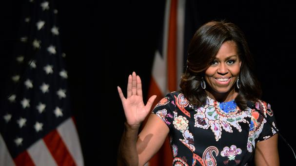 The former first lady dropped a hot playlist on Spotify (Stefan Rousseau/PA)