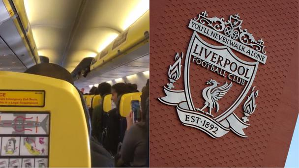 'You'll Never Walk Alone' played over the speaker during a flight