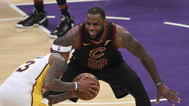 Cleveland Cavaliers Basketball player LeBron James (Mark J Terrill/AP)