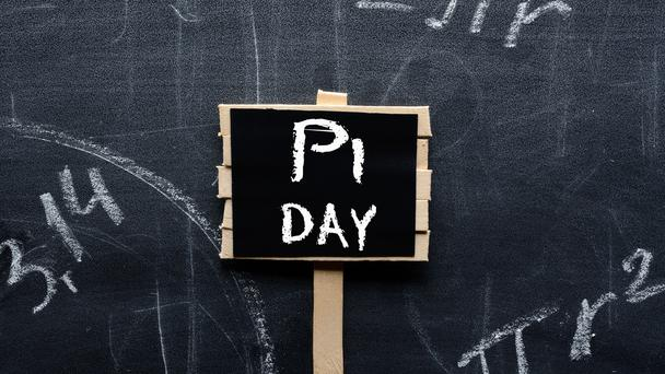 PI Day sign.