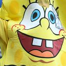 A man in a Spongebob Squarepants costume