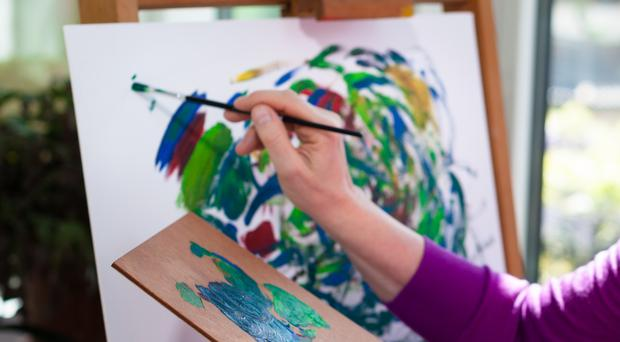 An 87-year-old grandma is using Microsoft Paint to create artistic masterpieces