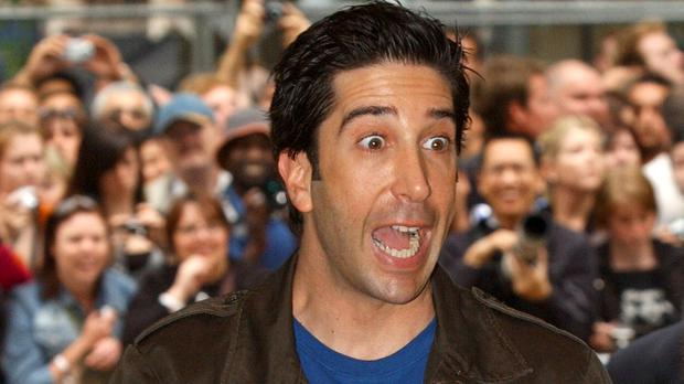 Actor David Schwimmer (Steve Parsons/PA)