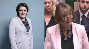 MPs Harriet Harman and Maria Miller have worn similar outfits on a number of occasions (PA)