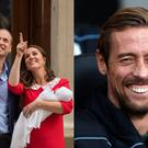 The royals and Peter Crouch
