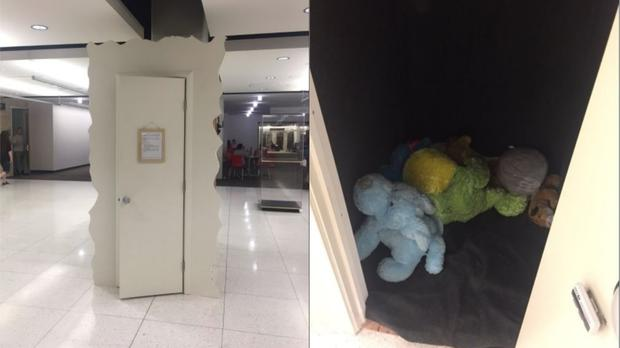You'll wish your university had this 'cry closet' in the