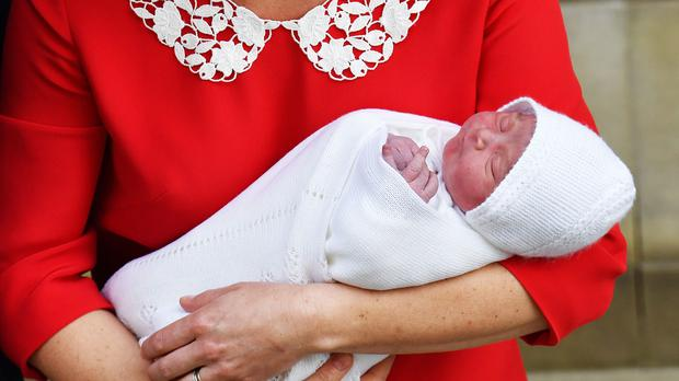 The naming of Prince Louis has generated much discussion on Twitter (John Stillwell/PA)