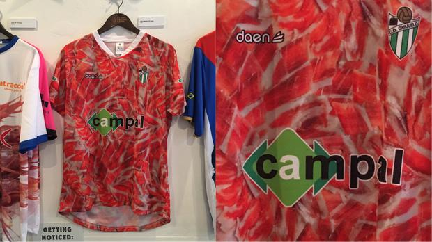 46aaac29651 9 truly eye-catching football shirts from the Fabric Of Football ...
