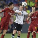 Liverpool's James Milner against Roma in the Champions League semi-final