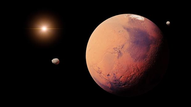 One millennial predicts we'll be living on Mars (dottedhippo/Getty Images)