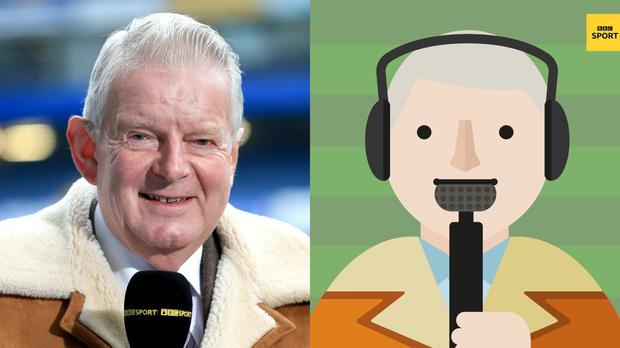 John Motson and the new Motty emoji