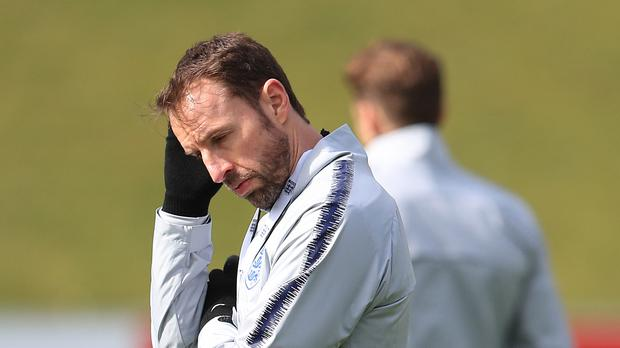 Gareth Southgate has named his squad of 23 to travel to Russia (Mike Egerton/PA)