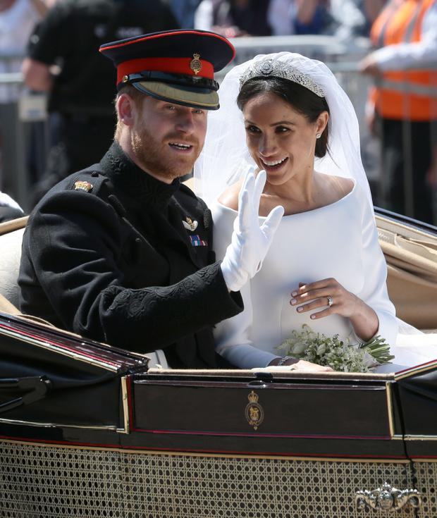 The Duke and Duchess of Sussex (Aaron Chown/PA)
