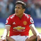 Manchester United forward Alexis Sanchez