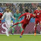 Iran v Spain at the 2018 World Cup in Russia – (Sergei Grits/AP)