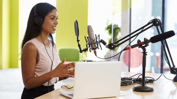 If you want to star in a podcast, one Twitter user will help with a name. (Monkeybusinessimages/Getty)