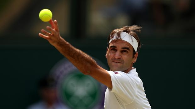 ICC and Wimbledon banter on Twitter after Roger Federer plays cricket stroke