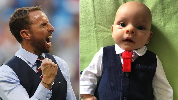 Celebrities, writers, journalists and more are backing the national side by wearing a waistcoat (Frank Augstein/AP/Jennie Walker)