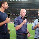 BBC football pundits Rio Ferdinand, Alan Shearer and Gary Lineker – (Owen Humphreys/PA)