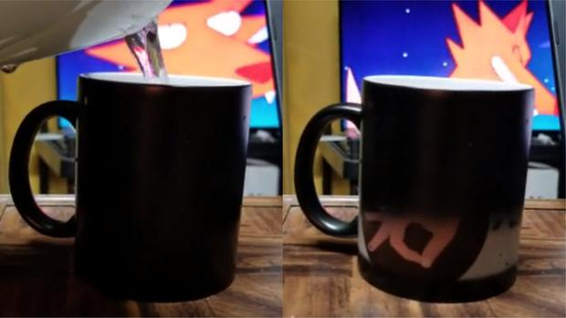 The mug changed as hot water was poured in (Ryan/dont_drink_the_milk)