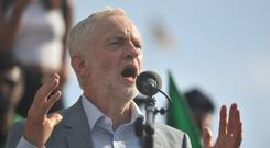 Jeremy Corbyn's explanation of his involvement is being used by people online to distance themselves from certain acts (Victoria Jones/PA)