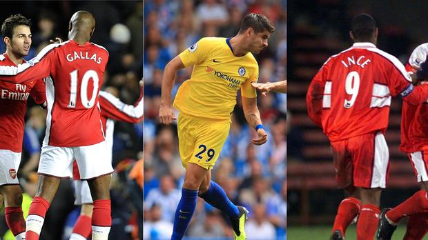 18e519ea59a William Gallas, Alvaro Morata and Paul Ince wear unusual squad numbers for  their positions (