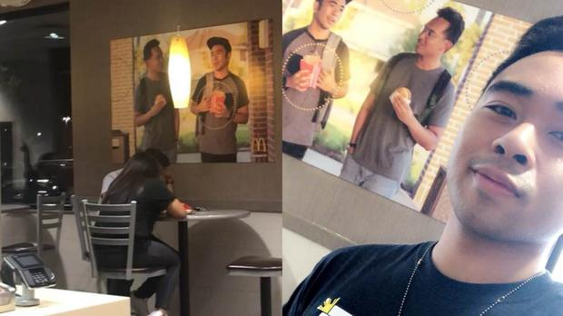 UH student, friend unleash viral stunt targeting McDonald's posters
