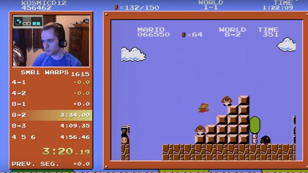 This guy just completed the fastest Super Mario Bros speedrun of all
