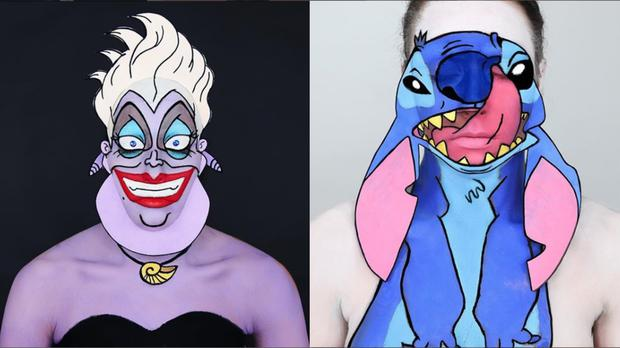 This Make Up Artist Transforms Into Beloved Cartoon Characters With