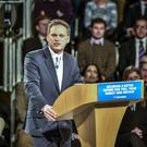 Grant Shapps was questioned on his washing up (Ben Birchall/PA)