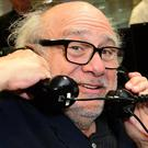 Danny DeVito takes part in a charity day – (Ian West/PA)