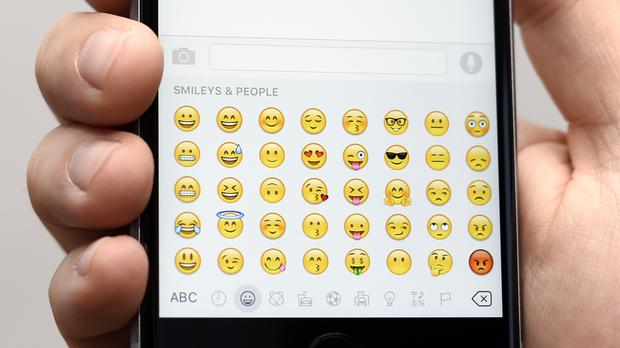 The latest emoji-based meme tells Twitter users, 'they live among us', about their most detested group of people (Lauren Hurley/PA)