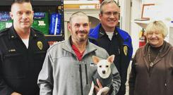 Kevin Booth is commended for his honesty (Sumner Police Department)