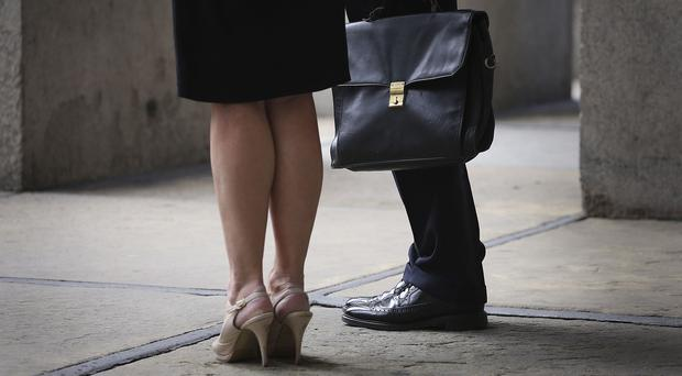Some 49pc of men receive a pension contribution, compared with 39pc for women. Stock photo: PA