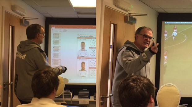 'I observed all the rivals we played': Marcelo Bielsa's 'spygate' presentation