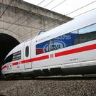 A Deutsche Bahn ICE3 High Speed Train (Gareth Fuller/PA)