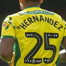 Onel Hernandez during a Championship match at Carrow Road, Norwich (Mark Pain/PA)
