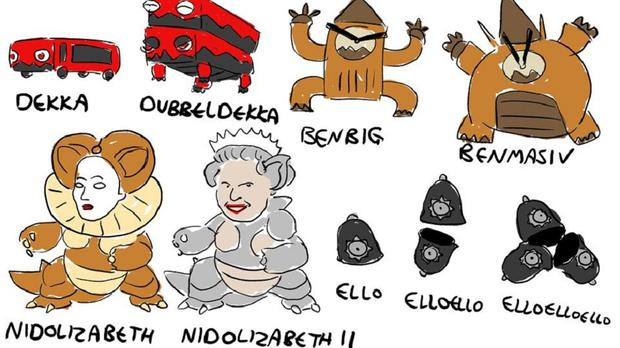 This Artist S Viral Pokemon Designs Are Inspired By British Life
