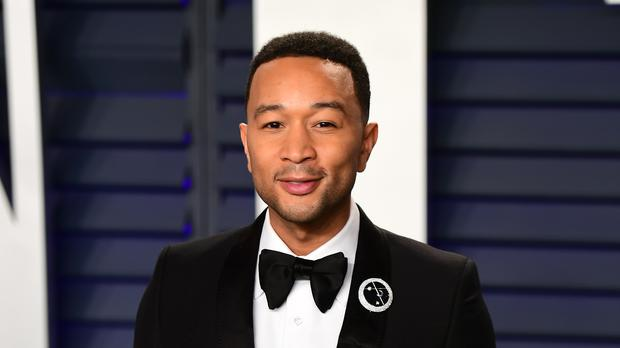 Celebrities such as John Legend joined the singer-songwriter in sharing their generated headlines (Ian West/PA)