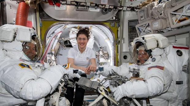 Anne McClain had been due to undertake the walk alongside Christina Koch (Nasa/PA)